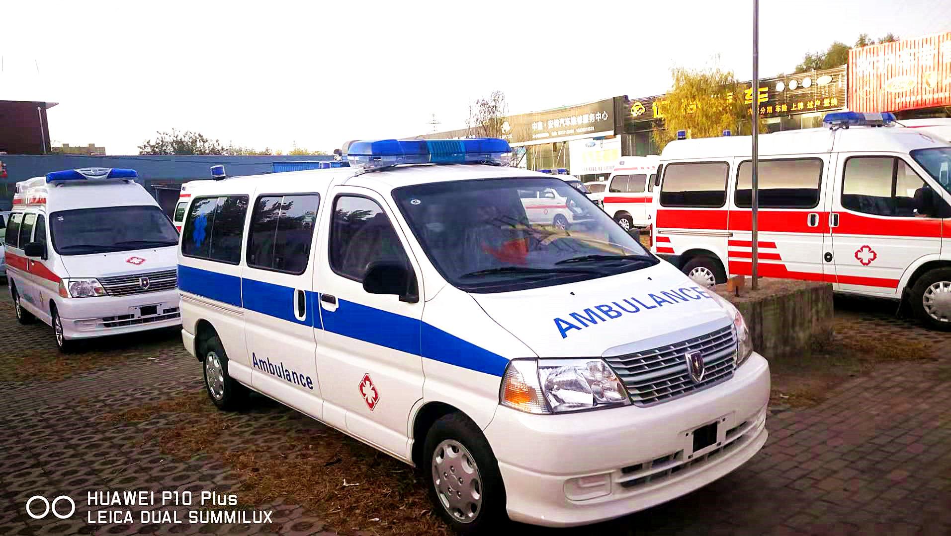 120急救车4G视频监控系统解决方案